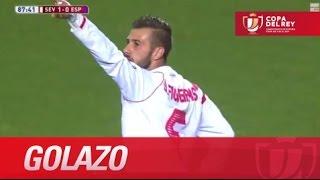 Golazo de Diogo (1-0) en el Sevilla FC - RCD Espanyol