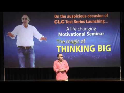 The magic of THINKING BIG @ JAIPUR... by Er. Shrawan Choudhary