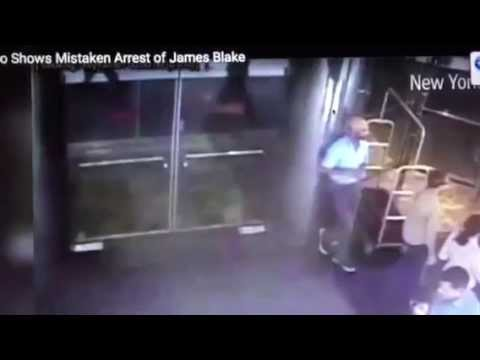 James Blake Mistaken Arrest James Frascatore NYPD Video #JamesBlake