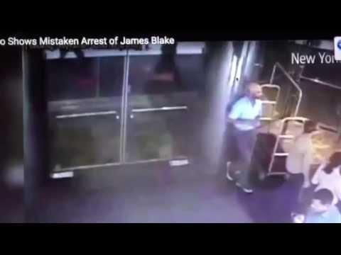 James Blake Mistaken Arrest James Frascatore NYPD Video #JamesBlake