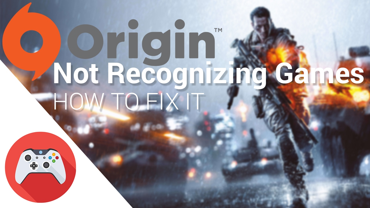 How to fix - Origin not recognizing installed games - YouTube