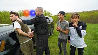 POLICE PRANK ON BEST FRIEND!