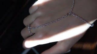 DIY chain ring bracelet!