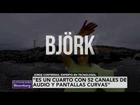 Björk, una artista adelantada a su época: experto en tecnología