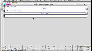 Til Danskere: løs / løse / løser ligning med Xcas (free app for macOS & Windows & Linux)