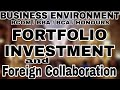 PortFolio Investment & Foreign Collaboration(Part-1) || Business Environment || Anurag Conceptuals