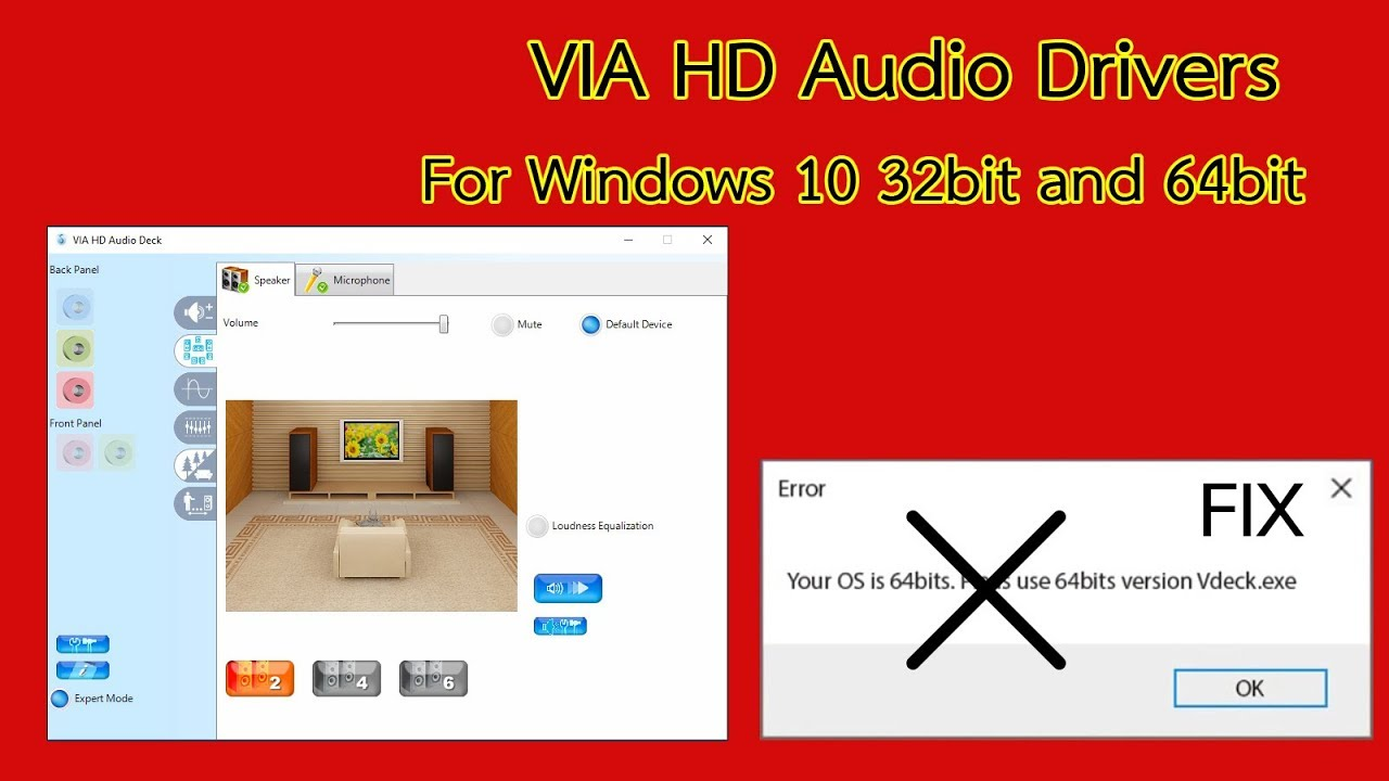 VIA HD Audio Compatible Driver PC