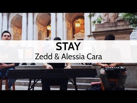 """Stay"" - Zedd & Alessia Cara (NYC Street Cover) - Dan, Jordan & Niko Kotoulas"