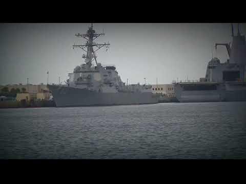 Mayport ships preparing for Hurricane Irma