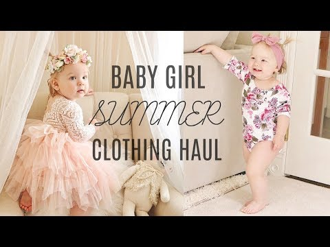 Affordable Baby Girl Clothing Haul- Old Navy, Target Baby & Walmart