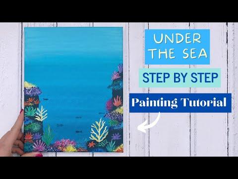 Coral Reef Painting Tutorial