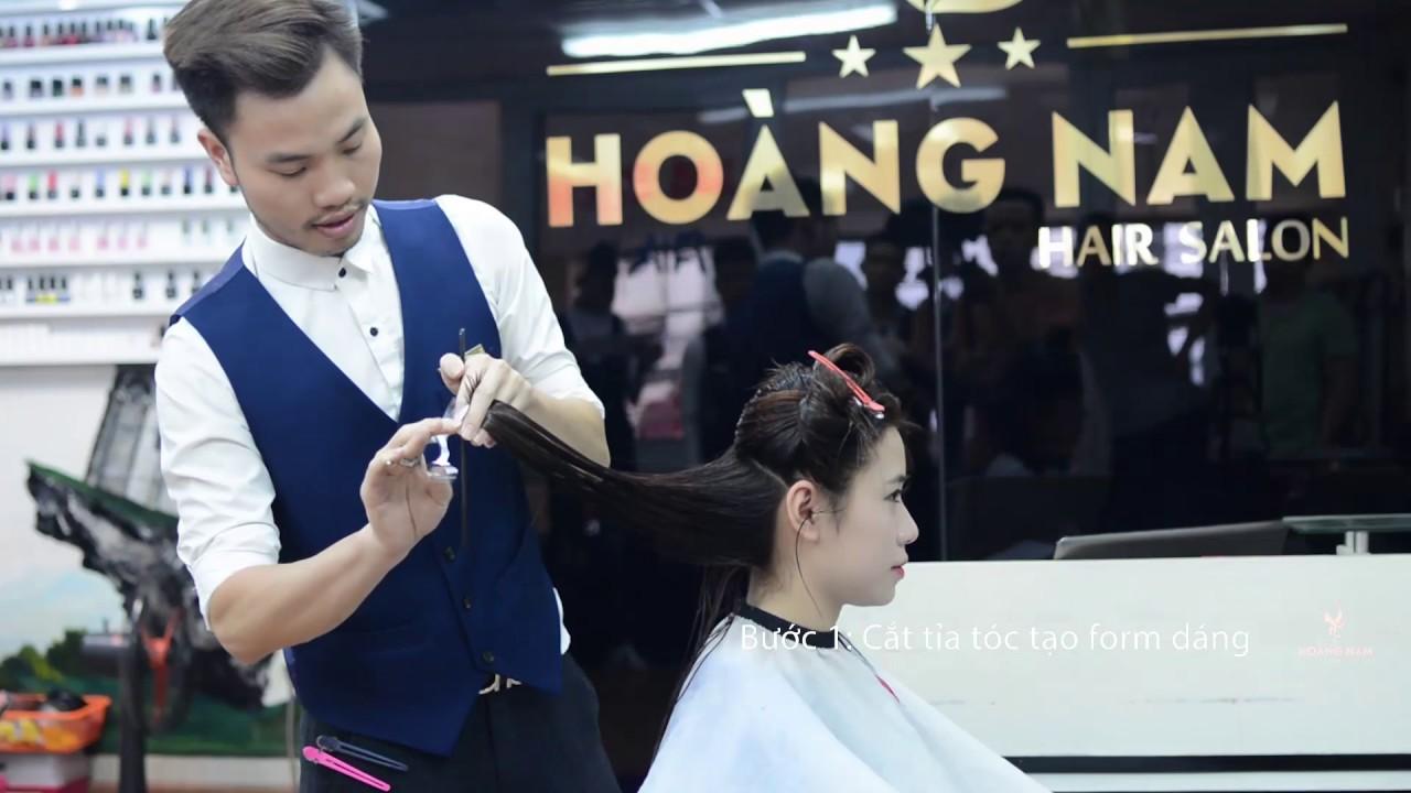 Hoàng Nam hair salon – Tóc nữ   Tổng hợp các thông tin liên quan đến bảng hiệu tóc nữ chi tiết