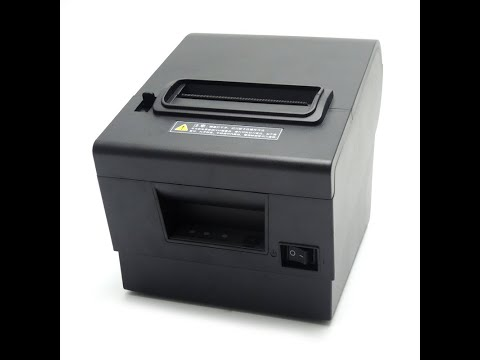 80mm Thermal receipt Printer driver free Download