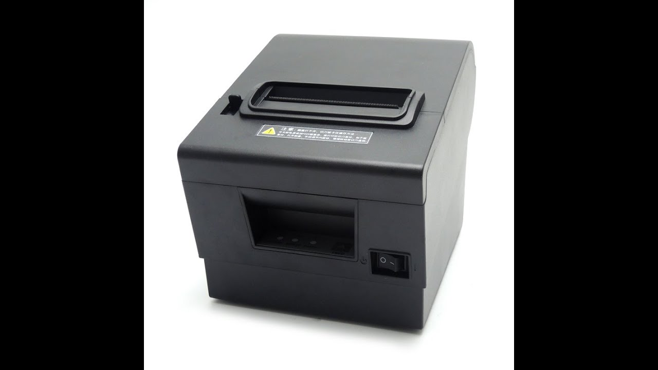 80mm Thermal Receipt POS Printer With USB Serial Ethernet Windows Driver  ESC/POS