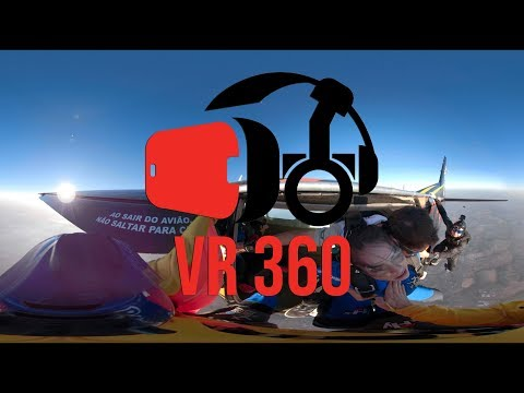 VR 360 Video for Virtual Reality – Sky dive