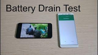 Samsung Galaxy J6 Battery Drain Test