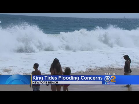 Newport Beach Braces For Possible King Tides Flooding