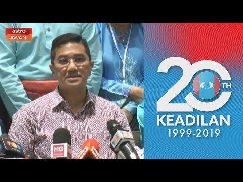 Kongres Nasional PKR 2019: Anwar tidak tepati janji - Azmin