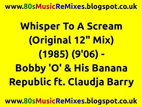 Bobby O With Claudja Barry Whisper To A Scream