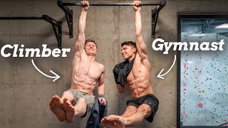Viral Fitness Challenges  VS  Pro Gymnast & Climber