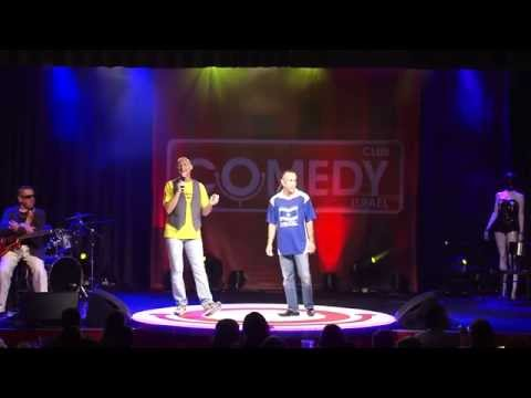 ЁмаЁм и Djuk на открытии Comedy Club Israel