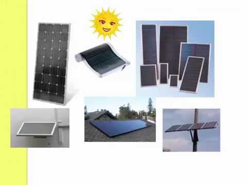 Solar energy lecture