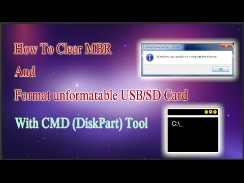 How to format USB/SD Which is not formating fix | USB Drive Format | How to reset USB