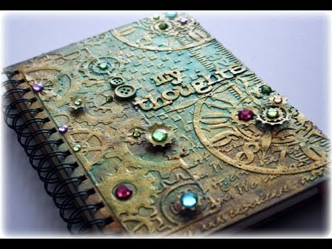 Cool Painting Notebook Craft Ideas Youtube
