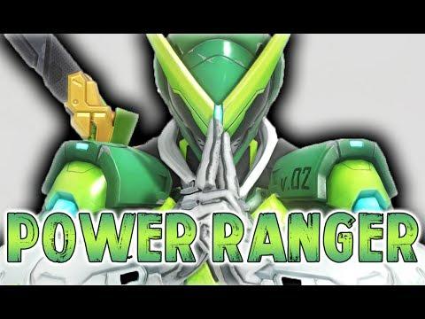 Genji - The Power Ranger | With Golden Shurikens