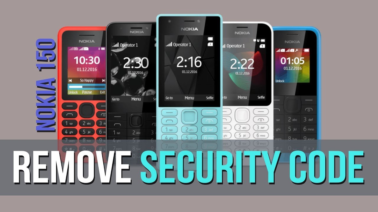 nokia security code unlock software free 64