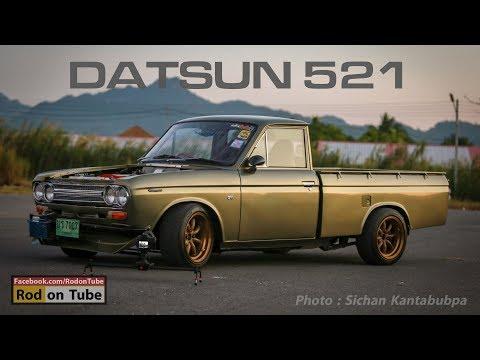 Datsun 521 สายซิ่งไม่ข้ามพันธ์ุกับ SR20 เทอร์โบ ฝาดำหลังหัก