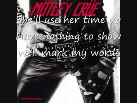 Клип Mötley Crüe - Too Fast For Love
