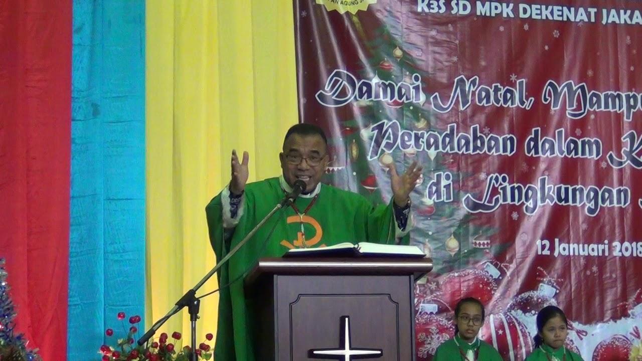 khotbah natal 2018 Khotbah Natal MKS Don Bosco Pondok Indah   YouTube khotbah natal 2018