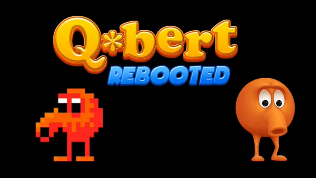 Q*Bert (QBert) Rebooted (PS4) - Levels 1 to 4 - YouTube