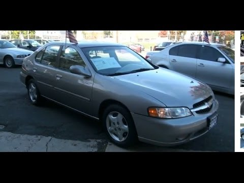 Awesome 2000 Nissan Altima GXE
