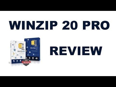 WinZip 20 Pro Review