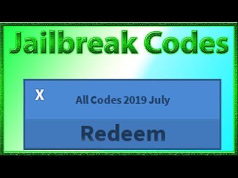 All Codes for Jailbreak | Planes Update | 2019 June