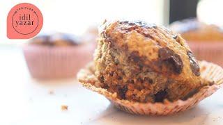 Unsuz Şekersiz Muffin Tarifi (ÇOCUKLAR İÇİN) - İdil Yazar - Yemek Tarifleri