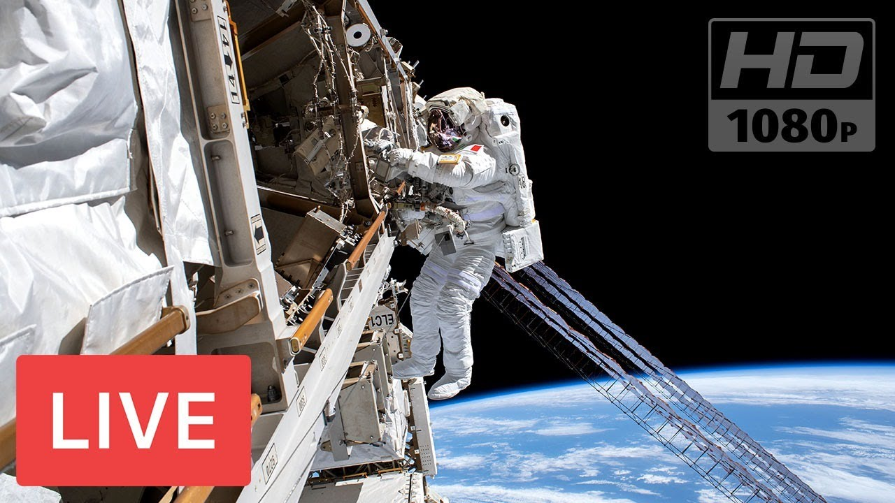 WATCH LIVE: NASA Spacewalk outside the International Space Station #Spacewalk65 @7:35 am EDT