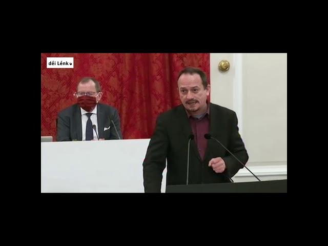 Dem Marc Baum seng Ried zum Covidgesetz vum 8. Januar 2021