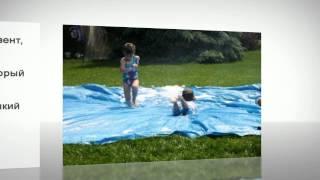 Простая и веселая игра для детей на даче