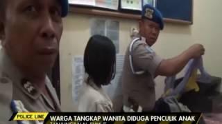 Diduga Penculik Anak, Polisi Tangkap Seorang Wanita di Tanjung Balai - Police Line 20/03