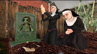 Evil Nun 2 killed a child Bad ending animation part 132  Sister Madeline vs Sister Enda