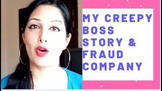 Download Creepy Boss and Fraud GM During COVID-19 | My Story | Office Interview
