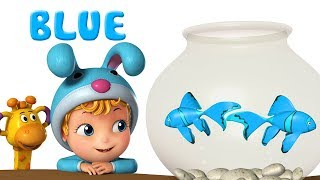 Learn Colors for kids with Fish | Preschool Learning Videos | Infobells