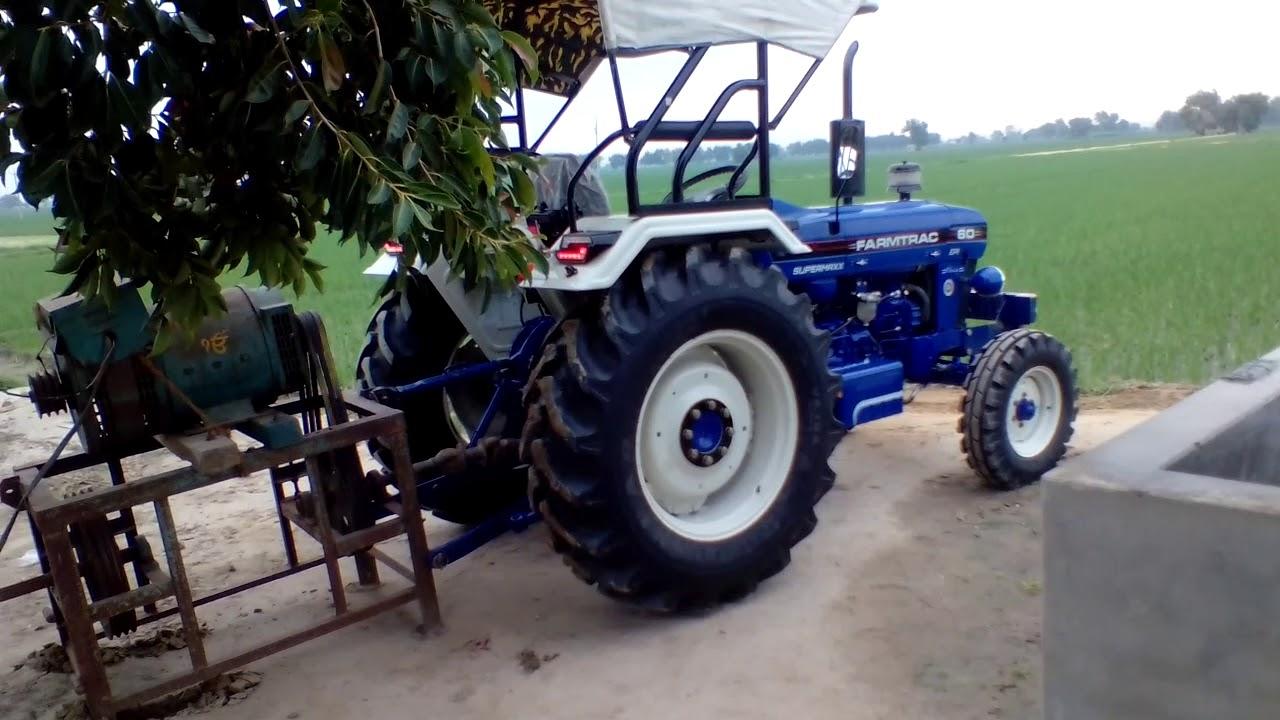 Farmtrac 60 epi classic (supermaxx) on altenator