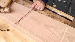 Cleaning Up A Dado After Using A Router