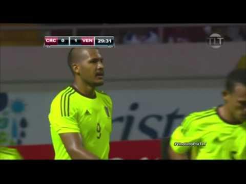 Venezuela Vs. Costa Rica Amistoso 28/05/2016 Gol de la Vinotinto Salomón Rondón