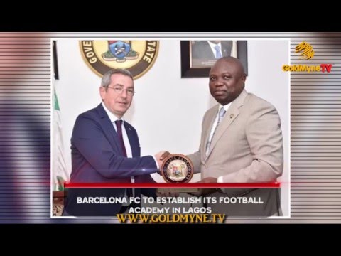 BARCELONA FC TO ESTABLISH IT'S FOOTBALL ACADEMY IN LAGOS