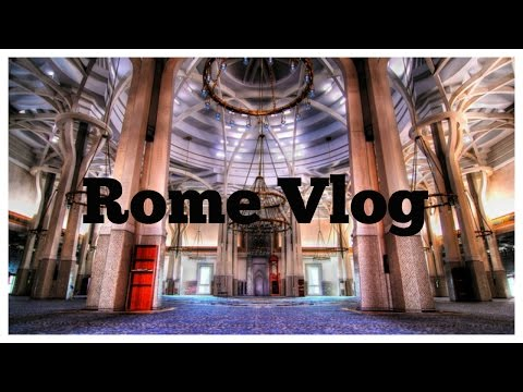 Rome Vlog: Colosseum  & visiting the biggest mosque in Europe!